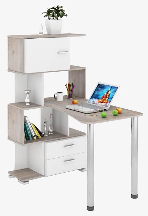 Компьютерный стол СЛ-5-4СТ-2+БД+БЯ, город Рязань