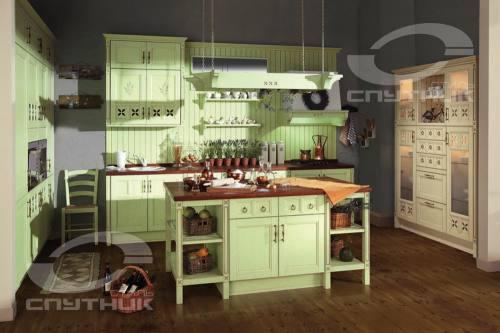 Кухня вилладжио спутник стиль город