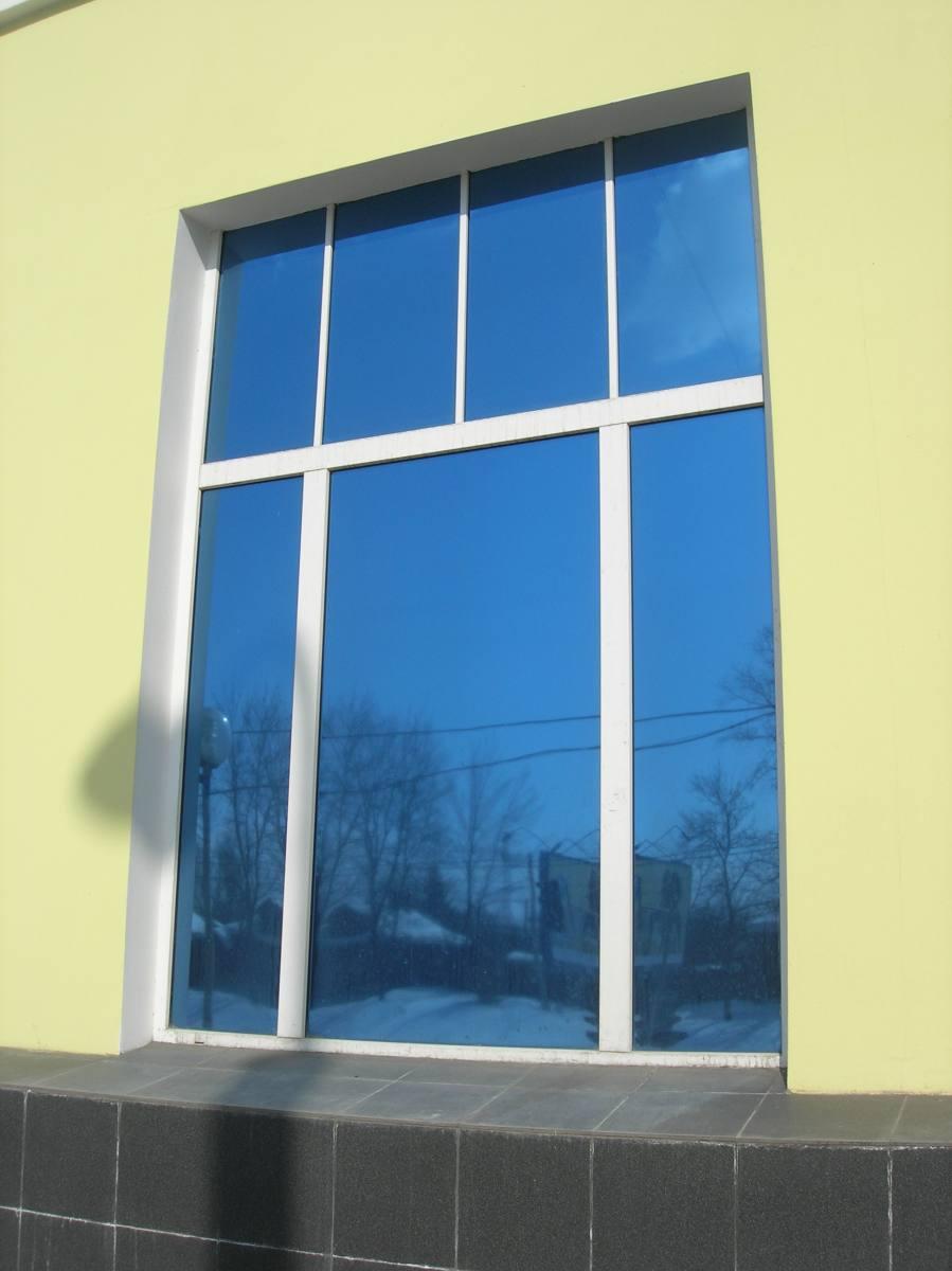 Пластиковые окна с тонированными стёклами в рязани, пластико.