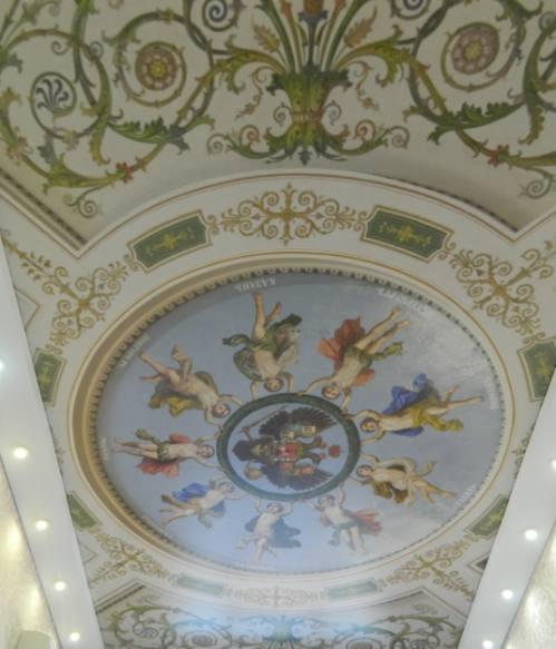 Натяжной потолок с фотопечатью, город Рязань