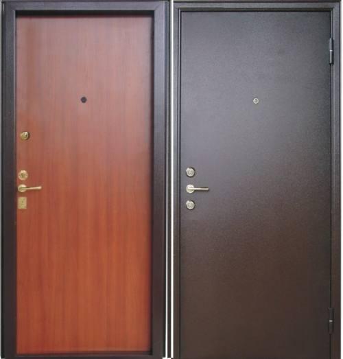двери металлические одностворчатые