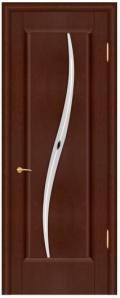 Шпонированная дверь Силуэт стекло, город Рязань