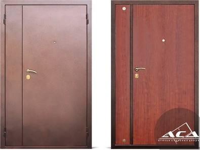 стальная дверь для нестандартного