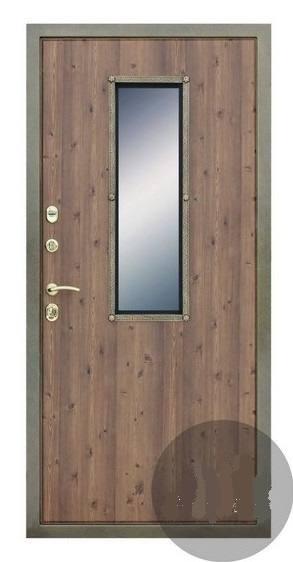 межтамбурные металлические двери с окном