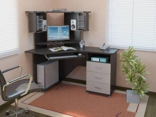Компьютерный стол KC 20-17 М2 (Венге/дуб молочный), город Рязань