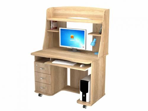 Компьютерный стол KC 20-21 М1 (Дуб сонома), город Рязань