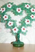 Бисерная валентинка., город Рязань