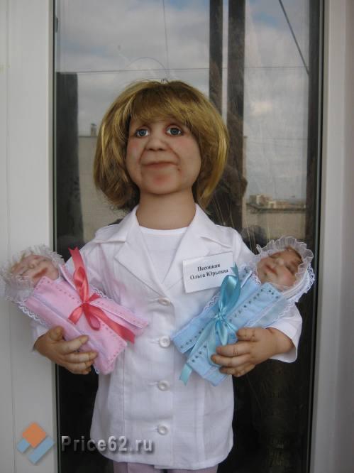 Куклы Галины Юциковой, город Рязань